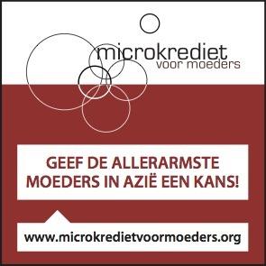 Sterk! Amsterdam steunt Microkrediet voor moeders