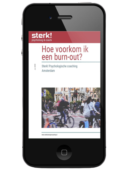 sterk ebook burnout